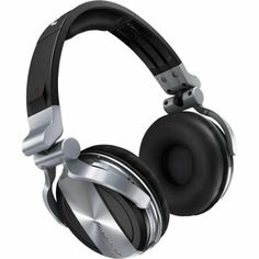 Pioneer HDJ-1500-S Professional DJ Headphones - Deep Silver : Pioneer Profession Dj Headphones : Electronics