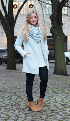 Powder Blue Coat