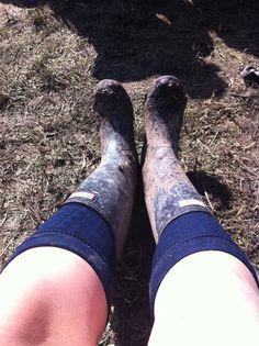 Muddy hunters, glastonbury