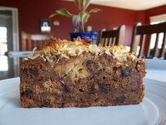 Lumberjack Cake Food A moist, fruity cake. Baking Recipes, Cake Recipes, Dessert Recipes, Desserts, Apple Recipes, Tofu, Vegetarian Finger Food, Lumberjack Cake, Good Food
