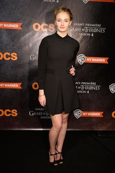 HBO's Game of Thrones season four Paris premiere Again with the shoes!