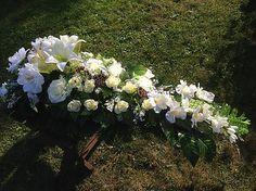 Smútočné aranžmá slza-len na ukazku / anad333 - SAShE.sk - Handmade Dekorácie