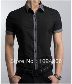 Free Shipping 2014 spring New Fashion Casual slim fit Short-sleeved men's dress shirts Korean Leisure styles cotton shirt M-XXXL $21.99 http://www.aliexpress.com/store/product/Free-Shipping-2014-spring-New-Fashion-Casual-slim-fit-Short-sleeved-men-s-dress-shirts-Korean/1024206_1623428309.html