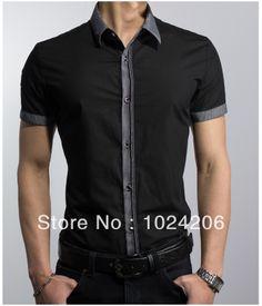 Free Shipping 2014 spring New Fashion Casual slim fit Short-sleeved men's dress shirts Korean Leisure styles cotton shirt M-XXXL $21.99 http://www.aliexpress.com/store/product/Free-Shipping-2014-spring-New-Fashion-Casual-slim-fit-Short-sleeved-men-s-dress-shirts-Korean/1024206_1623428309.html
