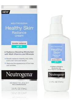 Neutrogena Healthy Skin Radiance Cream SPF 15, $13.