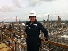 Emily Todd participated in an internship with ExxonMobil at their Chalmette Refinery outside of New Orleans, LA.