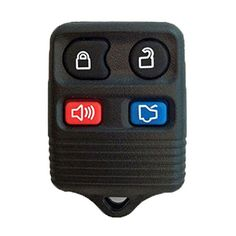 Car Key Fob Remote 4B Red For 2004 2005 2006 2007 2008 2009 Ford Expedition