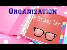 Organization + Study Tips for High School!