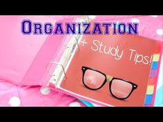How do you get organized and STAY organized in school?