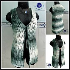 Ravelry: Moonlight Cardi Vest pattern by Maz Kwok