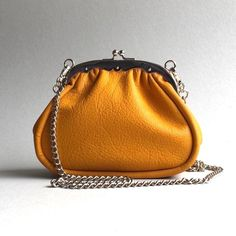Frame purse  in gold
