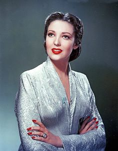 Linda Darnell (color) on Pinterest | Actresses, Tyrone Power and ...