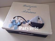 Patyarte: Batizado vela e toalha
