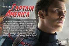 I'm Captain America! Which 'Avengers: Age of Ultron' character are you?null - Quiz