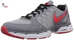 Nike  Dual Fusion Tr 6, Coupe fermées homme - gris - Wolf Grey/Drng Red-Cl Gry-Blk, 44 EU - Chaussures nike (*Partner-Link)
