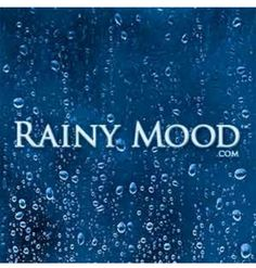 The Rainy Mood website plays a constant stream of rain and thunder sounds. Very soothing. Great background sound for writing! Rainy Mood, Rainy Night, Rainy Days, Walking In The Rain, Singing In The Rain, Rain And Thunder Sounds, Rain Sounds, John Fogerty, I Love Rain