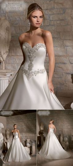 See the Latest Collection from Mori Lee #bridalwear #2015 #weddingdresses