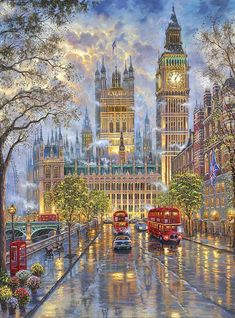 Cheap cross stitch kits, Buy Quality cross stitch kits directly from China stitching kit cross stitch Suppliers: New Cross Stitch Kits Unprinted Scenery London with Big Ben For Embroidered Handmade Art DMC Counted Set Wall Home Decor London Street, London Art, London Snow, London Winter, Big Ben, London Night, Art Moderne, Night City, Winter Scenes