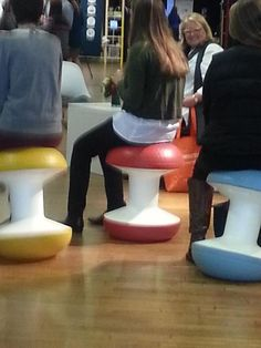 Our Ballo stools in action at Dwell on Design NY, October 9, 2014, pic thanks to fres designs on Twitter! // #bafco #bafcointeriors Visit www.bafco.com for more inspirations.