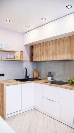 Simple Kitchen Design, Kitchen Room Design, Contemporary Kitchen Design, Stylish Kitchen, Kitchen Redo, Home Decor Kitchen, Interior Design Kitchen, Kitchen Remodel, Kitchen Ideas