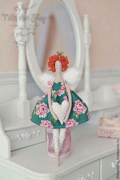 Купить Принцесса Мими - рыжий, подарок, тильда, принцесса, ангел, Рыжая, подарок девушке