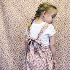 Rosa Suspender Skirt