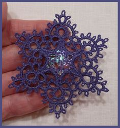 Tatting Smaller Stars