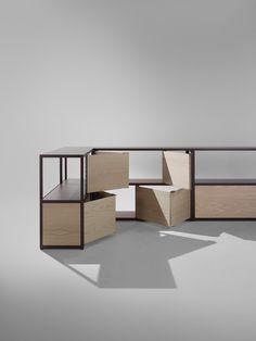 New Order Shelves for Hay  https://www.diezoffice.com/stories/new-order-shelves-for-hay/    Don't miss:  11 Modular Bookshelf Systems  http://vurni.com/modular-bookshelf-systems/