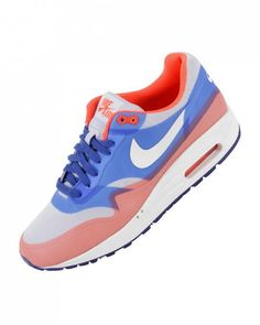 Air Max 1 WMNS Hyperfuse Premium  Hyper Blue/Total Crimson