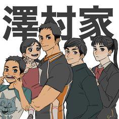 Haikyuu Manga, Haikyuu Fanart, Daichi Sawamura, Haikyuu Karasuno, Anime Demon, Anime Manga, Haikyuu Volleyball, Kurotsuki, Comic