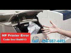 How to fix HP printer error code 0xc19a0013