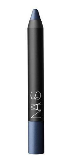 spring runway trend: navy eyeliner