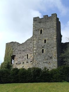 Richmond Castle was build around 1070. #Castle Finder — Lost in Castles