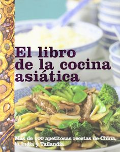 El libro de la cocina asiatica Asian Cookbook Spanish Edition ** Details can be found by clicking on the image.Note:It is affiliate link to Amazon.
