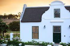 Cape Dutch architecture.  [ Tulbagh, South Africa ]
