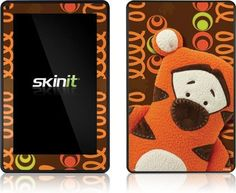 Skinit Tigger Peek Vinyl Skin for Amazon Kindle Fire by Skinit. $19.99. IMPORTANT: Skinit skins, stickers, decals are NOT A CASE. Our skins are VINYL SKINS that allow you to personalize and protect your device with form-fitting skins. Our adhesive backing can be applied and removed with no residue, no mess and no fuss. Skinit skins are engineered specific to each device to take into account buttons, indicator lights, speakers, unique curvature and will not interfere with othe...
