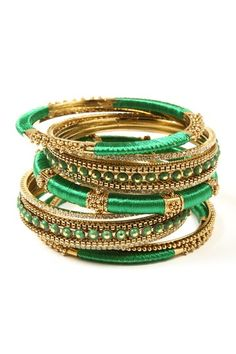 Rupal Spring Bangle Set