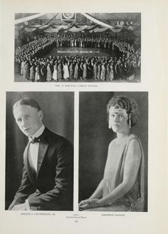 University of Detroit, 1923 Tower Yearbook, J-Hop, #Junior Prom