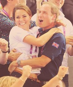 william & kate: they could not be any cuter
