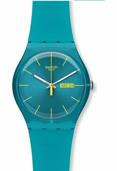 Montre Swatch Turquoise Rebel
