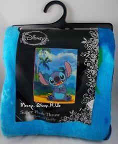 New-Disney-Lilo-Stitch-Aloha-Hawaii-Sands-Super-Plush-Fleece-Throw-Blanket