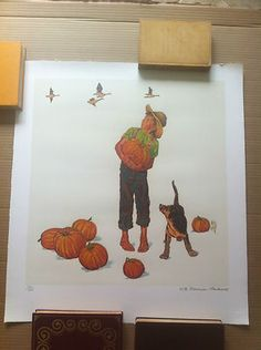 Norman Rockwell Limited Edition Lithograph on ARCHES PAPER signed