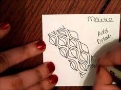 ▶ Tangle Tutorial: Maisie - YouTube