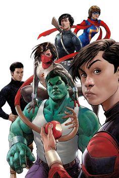 Superheroes In Full Color,,,,////