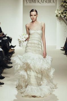 Yumi Katsura Ingrid Bergman wedding dress