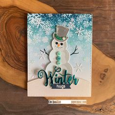 Paper Pawz: Simon Says: Layer It Up! Christmas Snowman, Christmas Cards, Split Coast Stampers, Simon Says Stamp Blog, Snowman Cards, Whimsy Stamps, Winter Cards, Greeting Cards Handmade, Some Fun