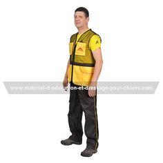 Veste sans manches à plusieurs poches, confortable pour faire entraînements et concours -> 60.00 € #vestedeprotection #gilet  Pensez à mentionner «J'aime» si ce produit vous plaît.