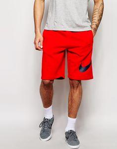 Nike Sweat Shorts With Swoosh Logo
