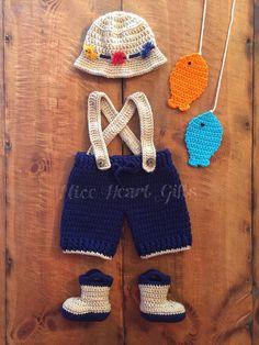 Baby Fisherman Outfi