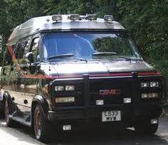 My old A Team Van GMC G20 Petrol V8 5.7 Litre